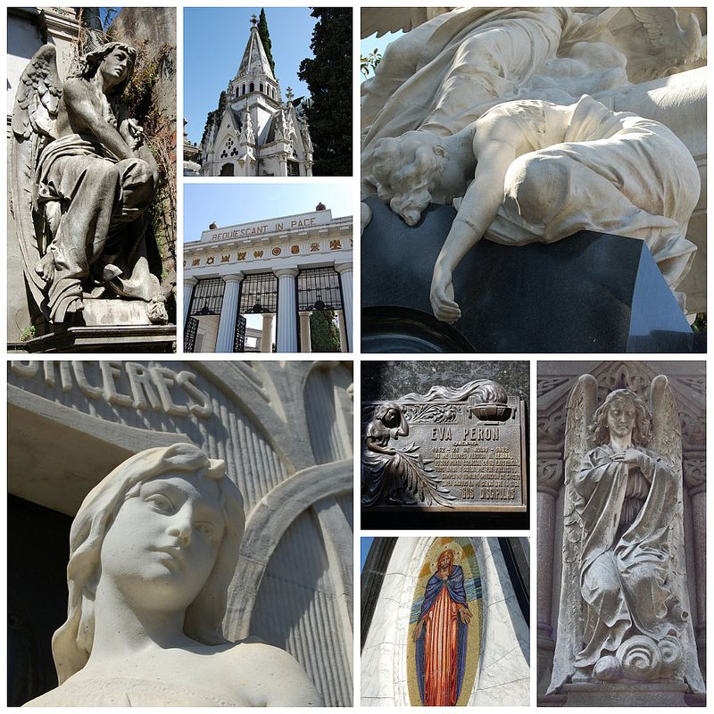 Recoleta collage